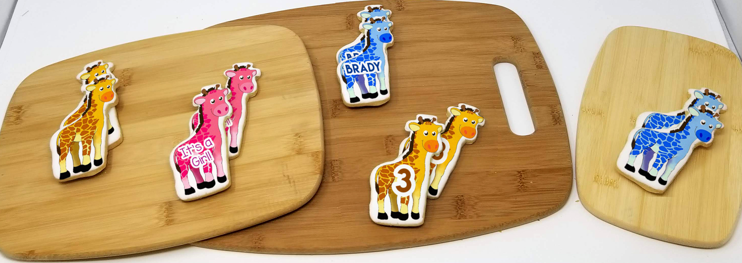 Personalized Baby Shower Favor Cookies | Wicked Good Cookies | Personalized Gifts, Gourmet Cookies, Cookie Favors, Creative Holiday Gifts, Custom Logo ...
